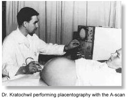 Historical obstetrical scanning