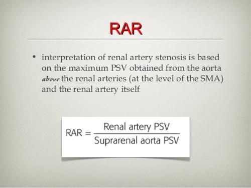 ranal artery